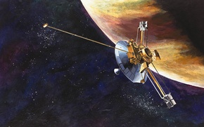 Картинка НАСА, беспилотный, Пионер-10, космический аппарат