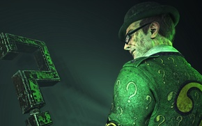 Картинка The Riddler, Загадочник, DC Comics, Batman: Arkham City
