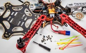 Картинка hobby, parts, electronics, plastics, drones
