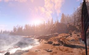Картинка DLC, дополнение, Fallout 4, открытый мир, Far Harbor, пост-апокалипсис