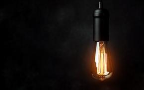 Картинка lighting, light bulb, electricity