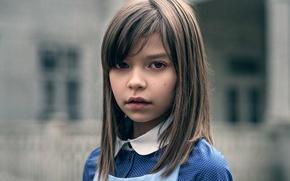 Картинка портрет, девочка, боке, Maxim Guselnikov