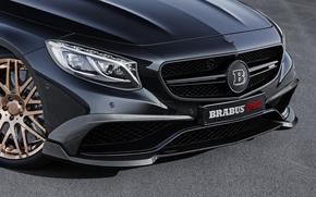 Картинка автомобиль, BRABUS, Coupe, 850, Biturbo
