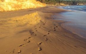 Картинка пляж, Индия, Индийский океан, Мулюр, Кавалам