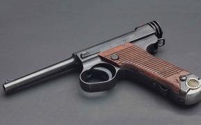Картинка оружие, Тип 14, Намбу, японский пистолет