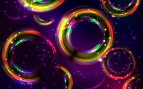 Картинка colors, фон, abstract, colorful, абстракция, круги, background