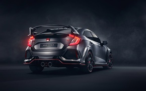 Обои 2018 Honda Civic Type R, Хонда, Сивик, Honda, Civic