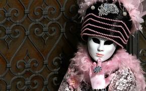 Картинка маска, костюм, Венеция, карнавал