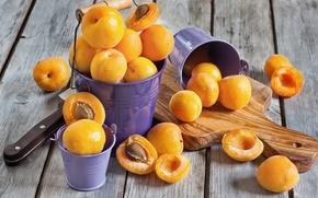 Обои фрукты, абрикосы, apricot