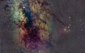 Обои бесконечность, космос, звезды, млечный путь