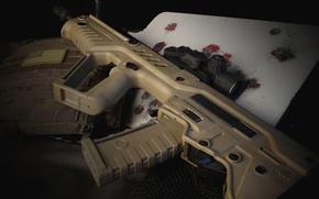 Картинка оружие, штурмовая, винтовка, Тавор, TAR-21, автомат