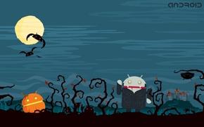 Обои Ужасы, Халлоуин, Андроид