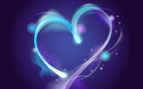 Обои текстура, сердце