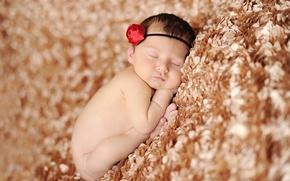 Картинка дети, сон, малыш, ребёнок, младенец