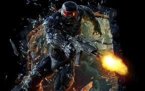 Картинка Crysis, Crytek, shooter, Electronic Arts