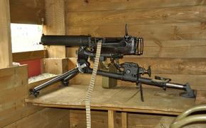 Картинка оружие, станковый, Максима, пулемёт