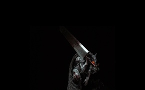 Картинка Berserk, Black Swordsman, Guts