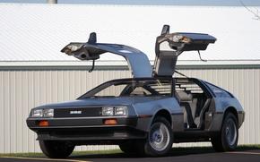 Картинка future, the, DeLorean, DMC, back