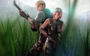 Картинка Capcom, fan art, Regina, Dylan Morton, S.O.R.T. agent, dino crisis, T.R.A.T. Soldier