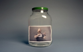 Картинка фото, человек, банка