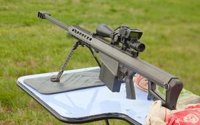 Обои barrett m82, cнайперка, витовка