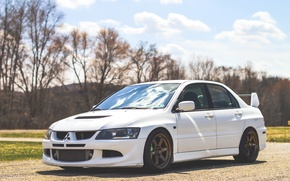 Картинка Mitsubishi, Lancer, Evo, Wheels, Volk