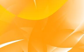 Картинка Белый, Оранжевый, Абстракция