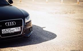 Картинка фара, шильдик, photography, Thirteen, photographer, Марк Литовкин, A5 Coupe, auto, машина, авто, фотограф, Audi, Ауди