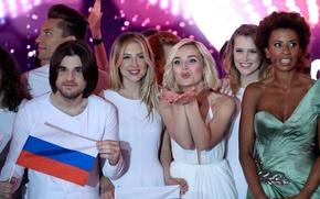 Картинка певица, Евровидение, Полина Гагарина, Александр Поздняков