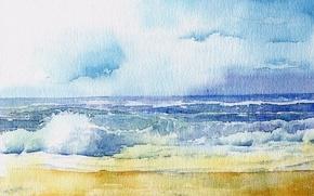 Картинка море, природа, картина