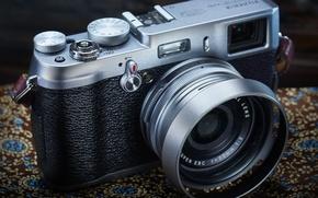 Картинка фон, камера, Fuji X100