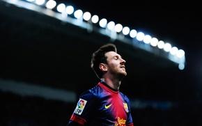 Картинка футбол, клуб, форма, футболист, football, Лионель Месси, Lionel Messi, игрок, Messi, FC Barcelona, ФК Барселона, …