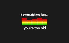 Обои эквалайзер, old, music, музыка, loud