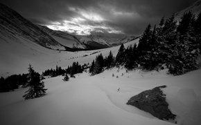Картинка winter, mountains, snow