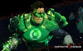 Картинка DC comics, Warner Games, Infinite Crisis, Green Latern