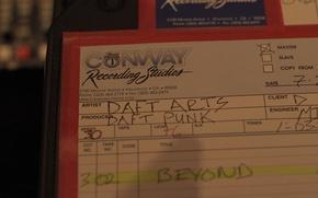Картинка Музыка, Music, Daft Punk, Дафт Панк, Random Access Memories, Master Tape, Мастер-Кассета