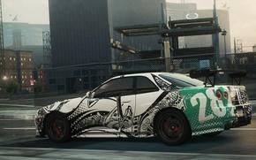 Картинка Nissan, 2012, Need for Speed, nfs, Urban, Skyline, Most Wanted, нфс, NFSMW, GTR V Spec …
