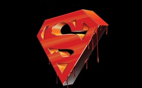 Картинка логотип, superman