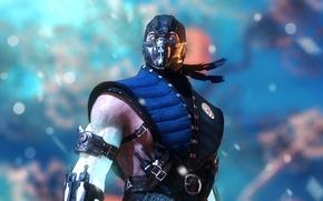 Картинка ninja, Sub-Zero, fan art, Mortal Kombat X
