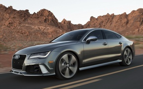 Картинка Audi, Sportback, RS7