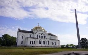 Картинка Белоруссия, Обелиск, Брестская крепость, Брест, Гарнизонный храм