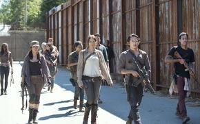 Картинка команда, сериал, The Walking Dead, Ходячие мертвецы