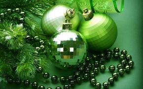 Картинка украшения, праздник, шары, Новый Год, Рождество, Christmas, New Year