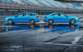 Картинка Volvo, Профиль, Вольво, S60, V60, Polestar