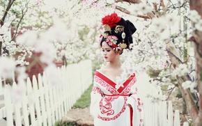 Картинка стиль, девушка, азиатка