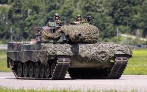 Картинка танк, боевой, Leopard 2