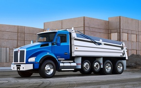 Картинка грузовик, Kenworth, самосвал, кенворт, T880
