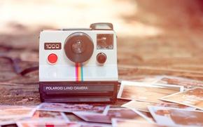 Картинка ретро, фотоаппарат, фотографии, фотокамера, polaroid