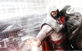 Картинка brotherhood, assassins creed, CGWallpapers, убийцы