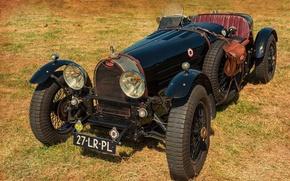 Картинка ретро, Bugatti, раритет, Bugatti Type 35, 1924-1931, Pur Sang